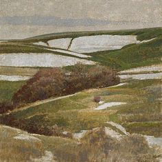 George Carlson, Wing of Snow 2008, oil on linen