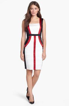 http://www.lyst.com/clothing/jax-colorblock-satin-sheath-dress-ivory-ruby/?product_gallery=44854427