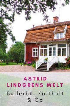 Eine Reise nach Bullerbü oder Katthult lohnt sich nicht nur für Astrid Lindgren Fans! In Schweden gibt es viel zu sehen! Sehenswürdigkeiten Schweden   Urlaub Schweden   Reisetipps Reisen In Europa, Happiness, Cabin, Group, House Styles, Board, Outdoor Decor, Nature, Travel
