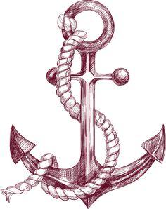 sailor drawing anchor #238