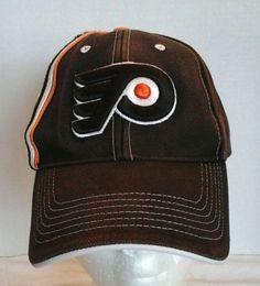 71a7500c1fe Philadelphia Flyers Raised Embroidery Cap Hat adjustable fits all