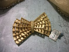 Vintage 1960s Coro Gold Tone Brooch by Booth58 on Etsy, $10.79