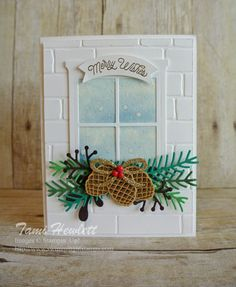 Christmas Pines Color Challenge | Swimming In Stamps