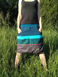 84009a7d07f Lněná krátká sukně 1   Zboží prodejce Canafé
