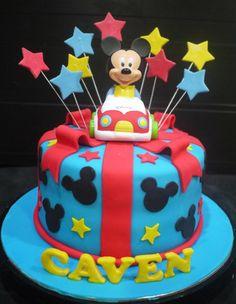 Gâteau Mickey mouse et Minnie mouse