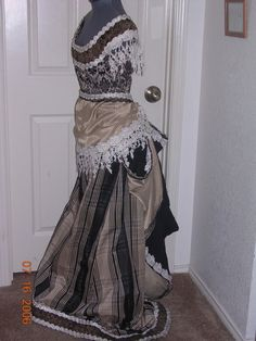 Bustle Gown by customecostumer on Etsy
