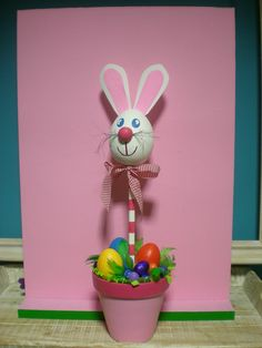 easter crafts using #garden #pots