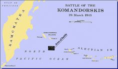 The Battle of the Komandorski Islands came about as a result of an intercepted Japanese radio message notifying Japanese forces on Attu that supplies were en route from Japan. Once the message was decrypted in Hawaii, Rear Admiral Charles McMorris was ordered to intercept and destroy the JPN convoy with one heavy cruiser, one light cruiser and four destroyers. What should have been an easy victory was complicated by the fact that the Japanese convoy was escorted by two heavy cruisers etc