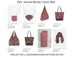 Autumn finally arrived, and to be honest it has always been my favorite time of year! I am in love with the rich colors, and the warm tones, and I have just created a beautiful collection of scarves and matching accessories to get you through the chilly months! Introducing the Autumn Blush Collection! Click Image […]