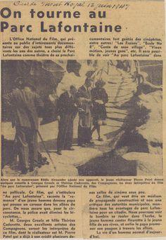"""Article du journal """"Guide Mont-Royal"""" du 12 juin 1947.   SOURCE: Archives de la Ville de Montréal;  code: VM6-S10-D1901-38-A"""