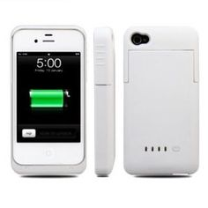 Slim External Rechargeable Backup Battery Charger Charging Case Cover For iPhone