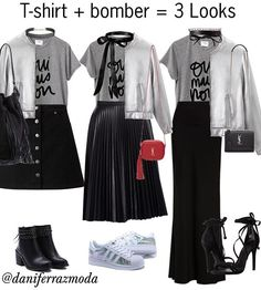 Designer Clothes, Shoes & Bags for Women 40s Fashion, Work Fashion, Fashion Looks, Fashion Outfits, Wardrobe Basics, Capsule Wardrobe, White Shirt And Blue Jeans, Looks Style, My Style