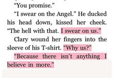 Jace & Clary ♡ This stuff makes me cry