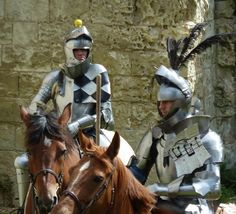Horse jousting tournament in the Loire