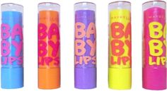 Maybelline Baby Lips Lip Balm moisturizes your lips while giving them a slight tint. It also comes in a medicated formula-clear and tinted. Love it!
