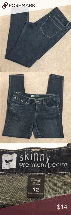 "Mossimo Skinny. Size 12. Inseam 30"" Mossimo Supply Co. Jeans Skinny"