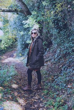 A Rosie Outlook wearing our Winchester Jacket