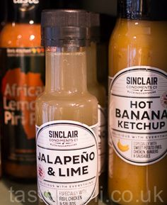 Jalapeno & Lime. Tangy & citrusy, this delicate sauce is both mild and delicious! Use for pouring over any meal especially white meat like fish or chicken. #lime #chilli #sauce