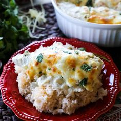 Keto Cooking (Excluding Side of Rice) Green Chili Chicken Bake Recipe- Creamy, delicious, one dish quick and easy dinner recipe Ketogenic Recipes, Low Carb Recipes, Baking Recipes, Diet Recipes, Healthy Recipes, Healthy Dinners, Healthy Cooking, Healthy Food, Crockpot