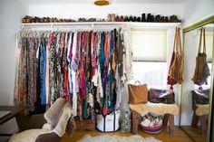 dressing ouvert hippie vintage