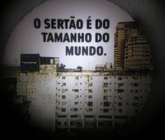 Museu da Língua Portuguesa - Grande Sertão: Veredas - Guimarães Rosa