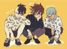Litle Boy, Inazuma Eleven Go, Thing 1, Boy Art, Manhwa, Character Design, Hero, Drawings, Illustration