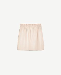 Image 8 of FAUX LEATHER MINI SKIRT from Zara