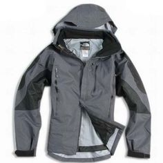 North Face Mens Triclimate 3 In 1 Jacket Dark Gray Black