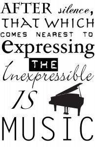Expressing the inexpressible