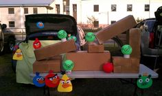 Fun Trunk or Treat Ideas | Ten23 Designs: Trunk or Treat 2011 :: Angry Birds Edition