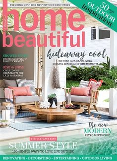 Homebeautiful 2017 February Magazines Covers Diy Home Style