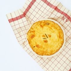 The last hot meal the Hobbits eat before embarking on their long journey (the book) Mushroom Bacon Leek pie