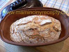Kváskový chléb z ledničky Bakery, Muffin, Bread, Breakfast, Recipes, Food, Morning Coffee, Brot, Recipies