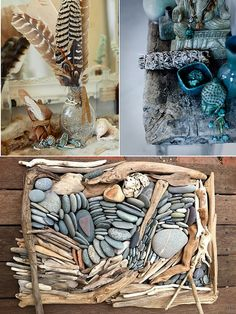 #stones #feathers #herbs collected on adventures to be used freely as you are inspired and called to do so #altarinspiration