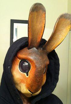 Rabbit mask by *missmonster on deviantART