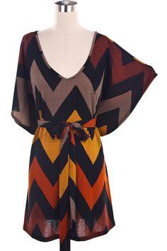 V Neck Batwing Sleeve Chevron Stripe Dress Fall Dresses, Cute Dresses, Fall Outfits, Cute Outfits, Fashion Outfits, Affordable Dresses, Textiles, Autumn Winter Fashion, Dress To Impress