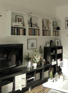 Így festek laminált bútort | Jobb mint volt Bookcase, Shelves, Home Decor, Shelving, Decoration Home, Room Decor, Book Shelves, Shelving Units, Home Interior Design
