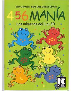 456 Mania los Numeros del 1 al 30 | Planeaciones Gratis