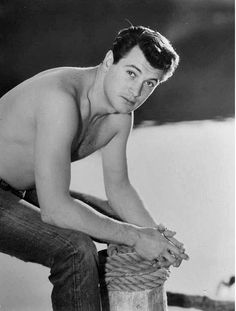 Rock Hudson.  Because apparently, I also have a thing for gay men...