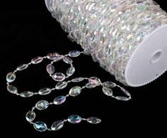 Cheap strand, Buy Quality strand beads Directly from China acrylic disk beaded Iridescent rainbow crystal garland strands for wedding decoration chandelier Winter Wedding Decorations, Diy Party Decorations, Valentine Decorations, Crystal Garland, Beaded Garland, Acrylic Gems, Wedding Supplies, Bead Art, Iridescent