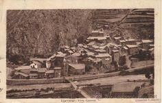 Llavorsi, vista general.  Fotografia M. Solé. Bossòst.  Circulada 18/08/1931