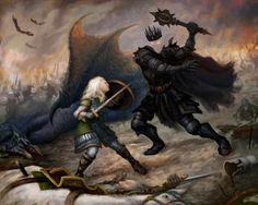 Éowyn and the Nazgûl ArtOrder Challenge | Micah Stone #eowyn