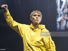 Ian Brown of The Stones Roses performs on stage on Day 2 of Isle Of Wight Festival 2013 at Seaclose Park on June 14, 2013 in Newport, Isle of Wight.