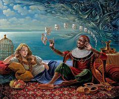 Michael Cheval, 1966 ~ Surrealist painter | Tutt'Art@ | Pittura * Scultura * Poesia * Musica |