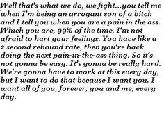 Notebook quote so accurate to my relationship :) Amazing Quotes, Great Quotes, Quotes To Live By, Me Quotes, Motivational Quotes, The Notebook Quotes, Favorite Movie Quotes, Favorite Things, Cant Help Falling In Love