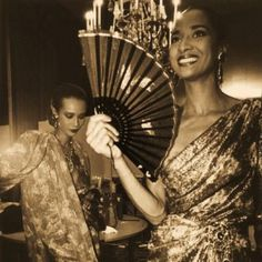 Elegance Personified: Iman and Gloria Burgess