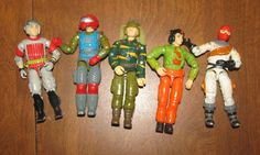 G.I. Joe action figures included in a grab-bag with other toys (including Masters of the Universe!!!) for 1.99 at Goodwill