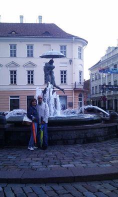 Fuente del beso en Tartu