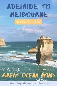 Plan your Australian road trip across the Great Ocean Road, Victoria with this Adelaide to Melbourne drive itinerary. See the best attractions in South Australia, such as the Murray River, and coastal attractions in Victoria, such as the 12 Apostles. #australia #travel #backpacking #roadtrip Australia Beach, South Australia, Australia Travel, Travel Advise, Travel Tips, Australian Road Trip, Australian Photography, Murray River, Melbourne Street