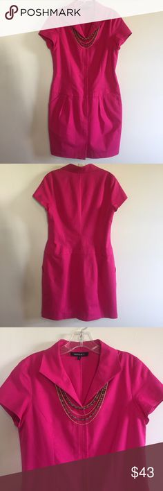 """Lafayette148 New York Designer Dress. Chic Lafayette 148 New York Designer Dress.  Gorgeous! Between under arms 19"""". Waist area 34"""". Hip area 49"""".  Dress hangs in a very flattering form and gives you some extra room to be very comfortable. Small mark along zipper that is hard to see but price reflects.  Bundle with any of the jewelry sets and get 35% off. This dress is a beautiful color and shape. Gorgeous! Lafayette 148 New York Dresses"""